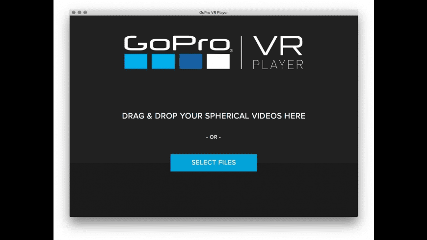 GoPro VR Player for Mac - review, screenshots