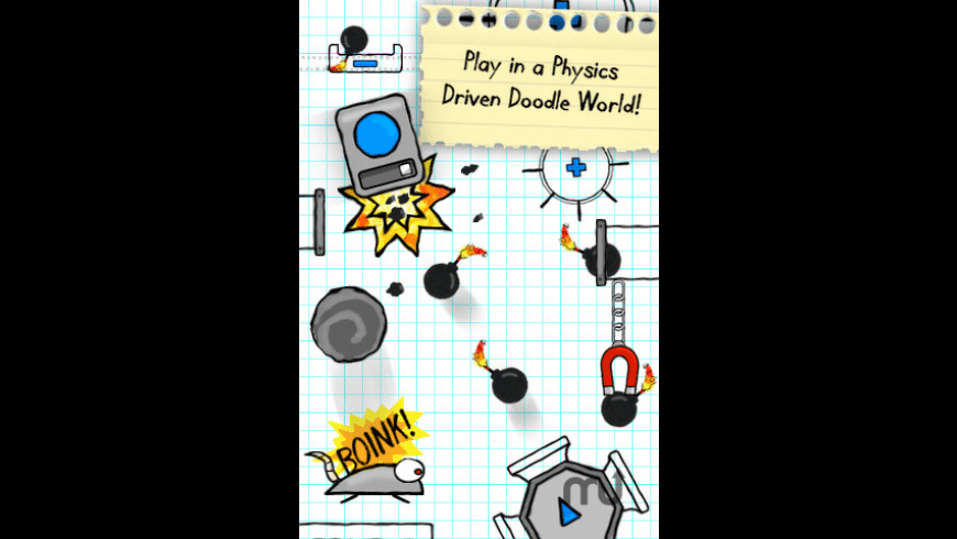 Doodle Bomb: Physics Puzzle with a Bang for Mac - review, screenshots