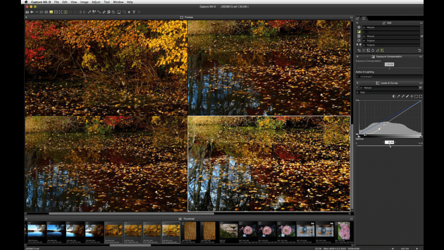 Nikon Capture NX-D for Mac - review, screenshots