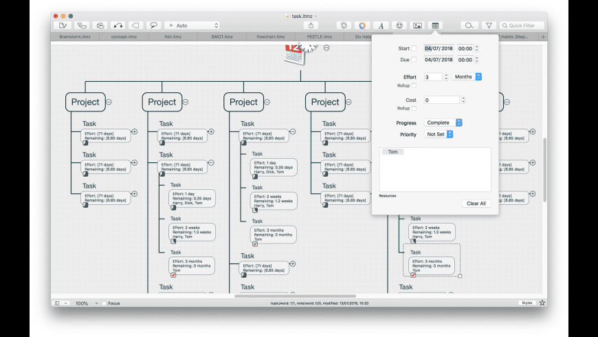 iThoughtsX for Mac - review, screenshots