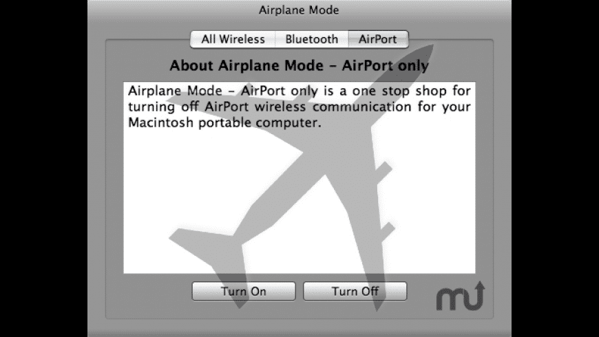 Mac Airplane Mode for Mac - review, screenshots