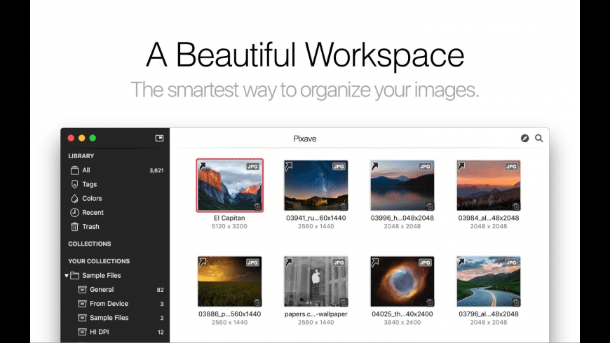 Pixave for Mac - review, screenshots
