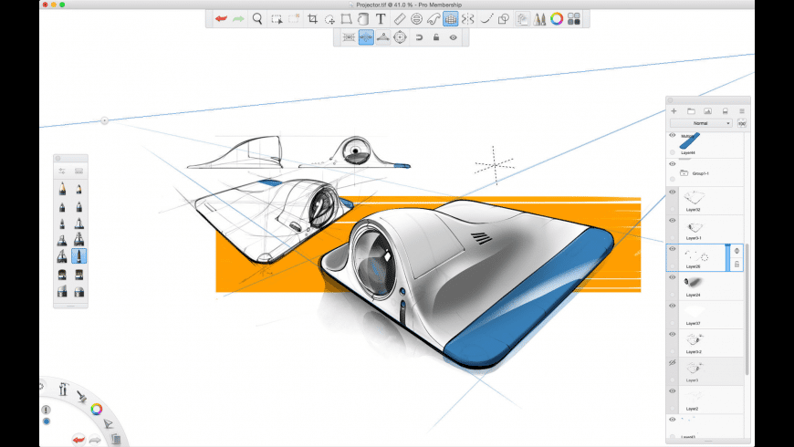 Autodesk SketchBook for Mac - review, screenshots