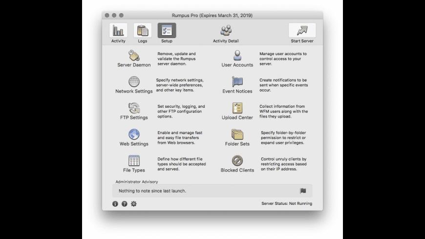 Rumpus for Mac - review, screenshots