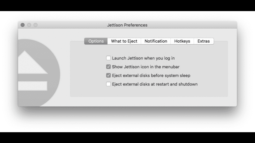 Jettison for Mac - review, screenshots