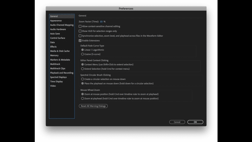 Adobe Audition CC 2019 for Mac - review, screenshots
