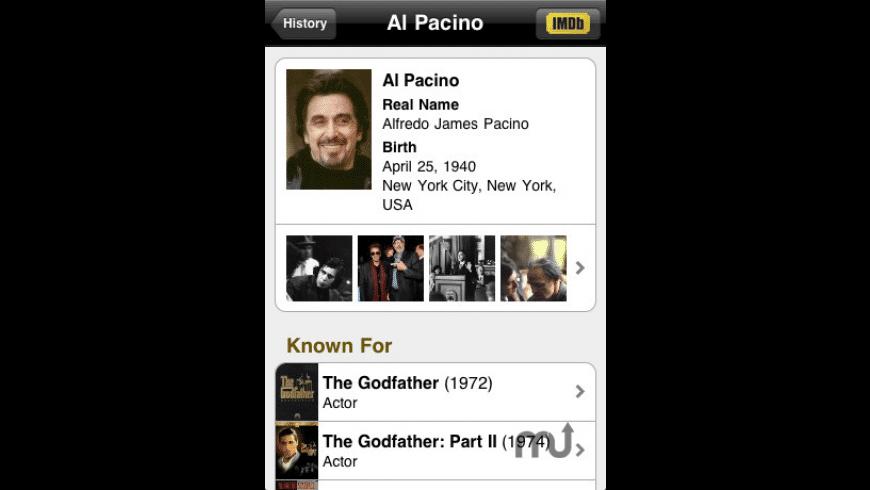 IMDb Movies & TV for Mac - review, screenshots