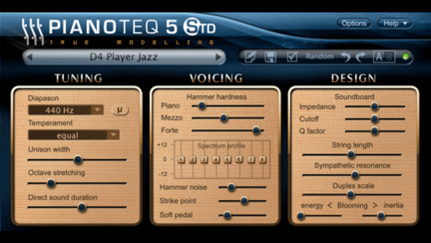 Pianoteq for Mac - review, screenshots