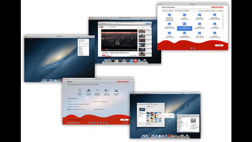 NoMachine for Mac - review, screenshots