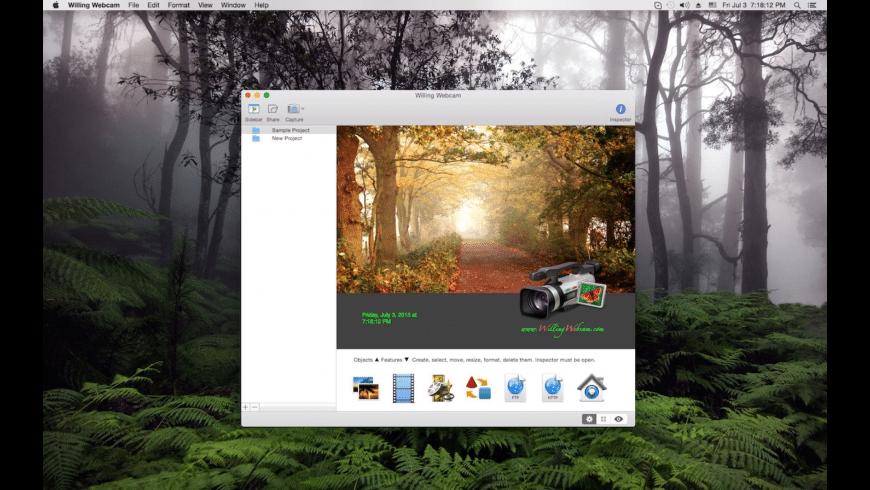 Willing Webcam for Mac - review, screenshots