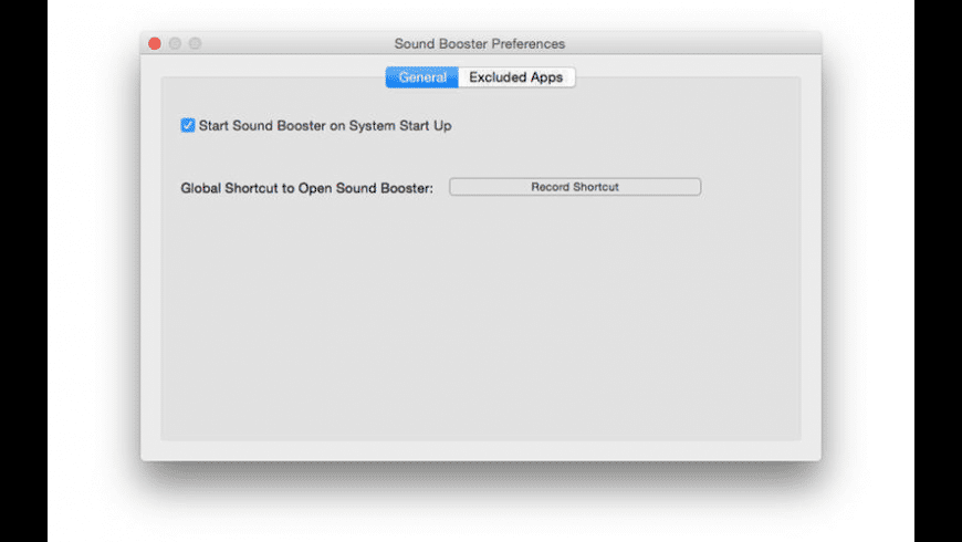 Sound Booster for Mac - review, screenshots