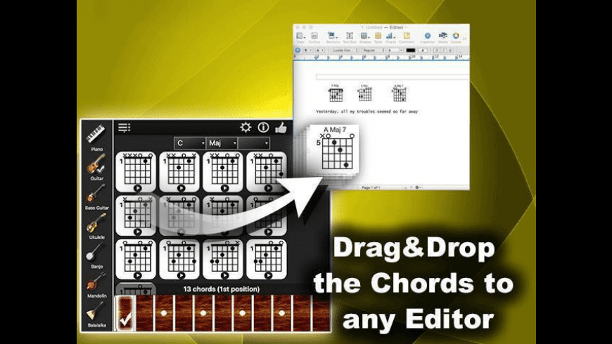 Chords Compass for Mac - review, screenshots