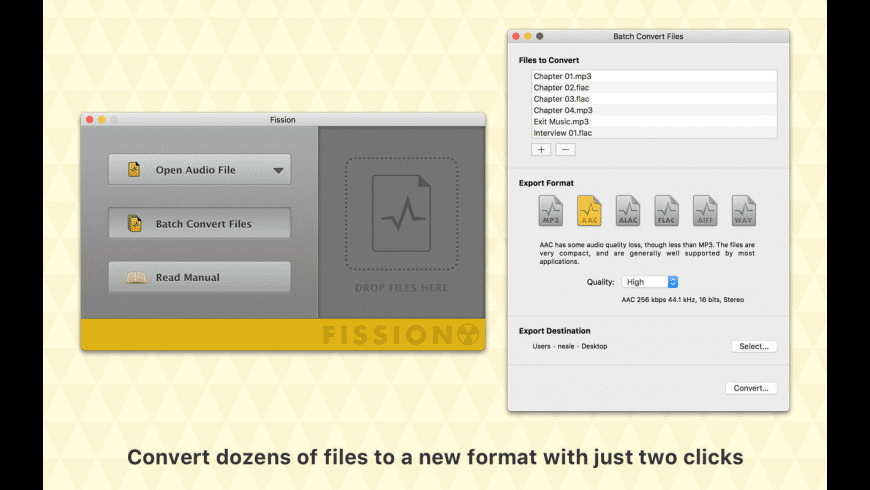 Fission for Mac - review, screenshots