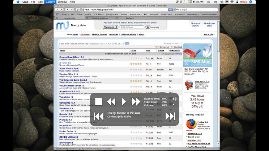X-Tunes for Mac - review, screenshots