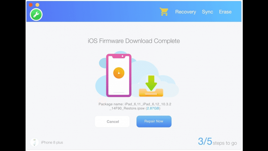 Fix My iPhone for Mac - review, screenshots