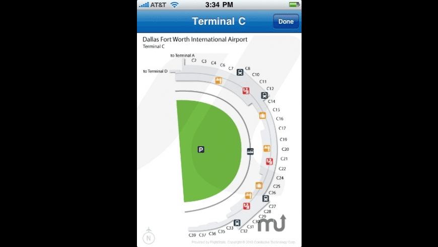 GateGuru - featuring Airport Maps for Mac - review, screenshots