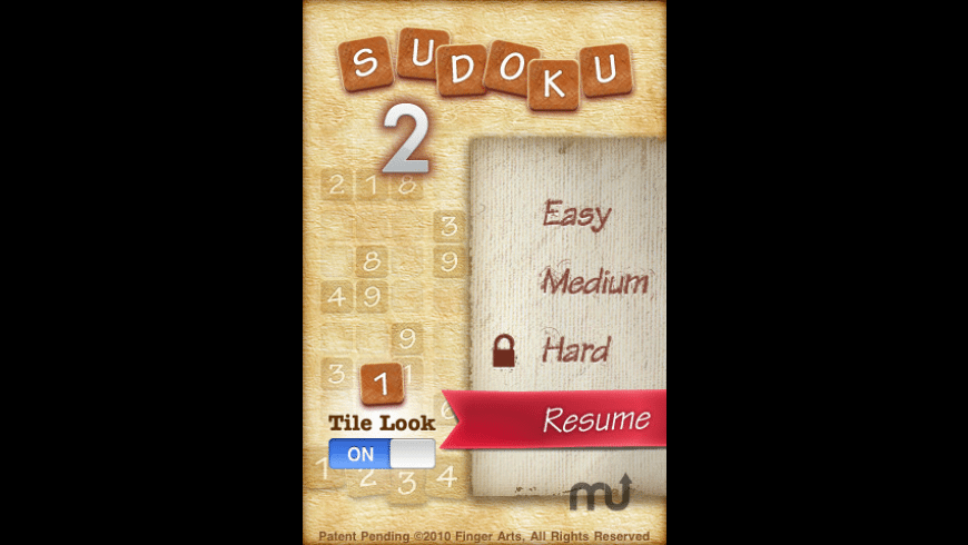 Sudoku 2 for Mac - review, screenshots