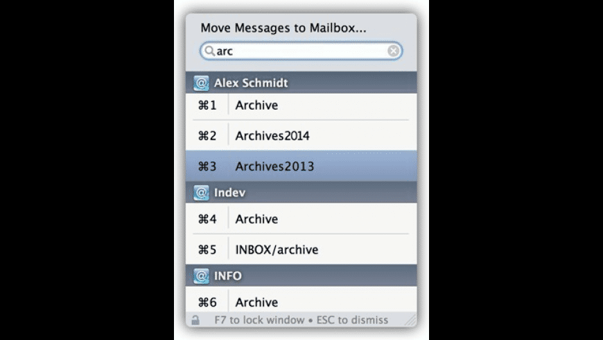 Mail Act-On for Mac - review, screenshots