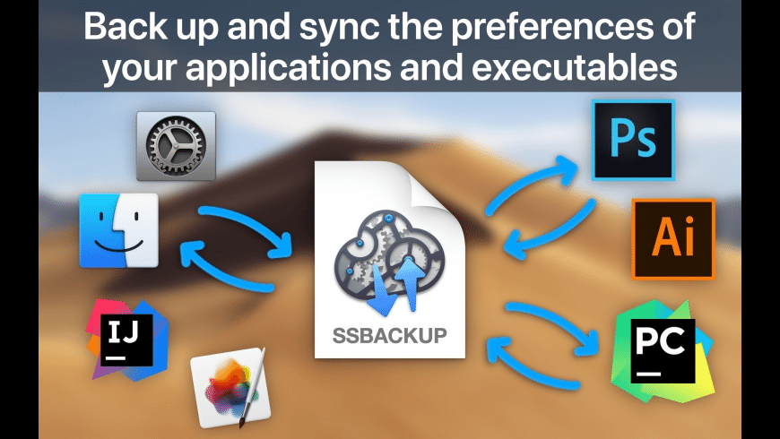SyncSettings for Mac - review, screenshots