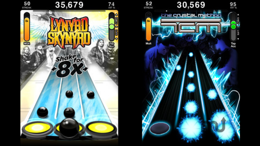 Tap Tap Revenge 3 for Mac - review, screenshots