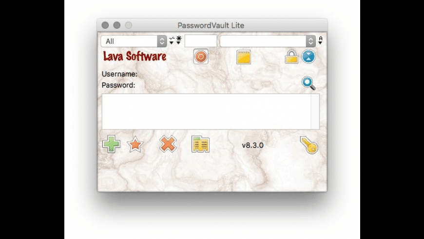 PasswordVault Lite for Mac - review, screenshots
