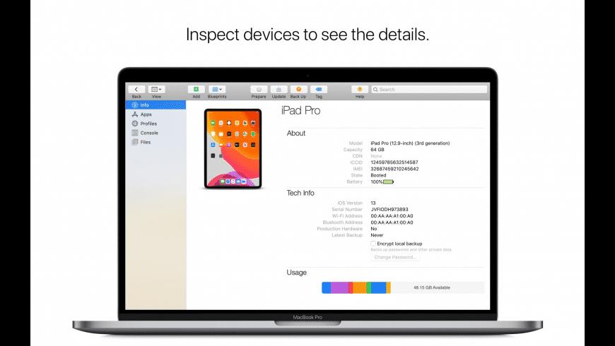 Apple Configurator for Mac - review, screenshots