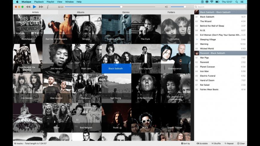 Musique for Mac - review, screenshots
