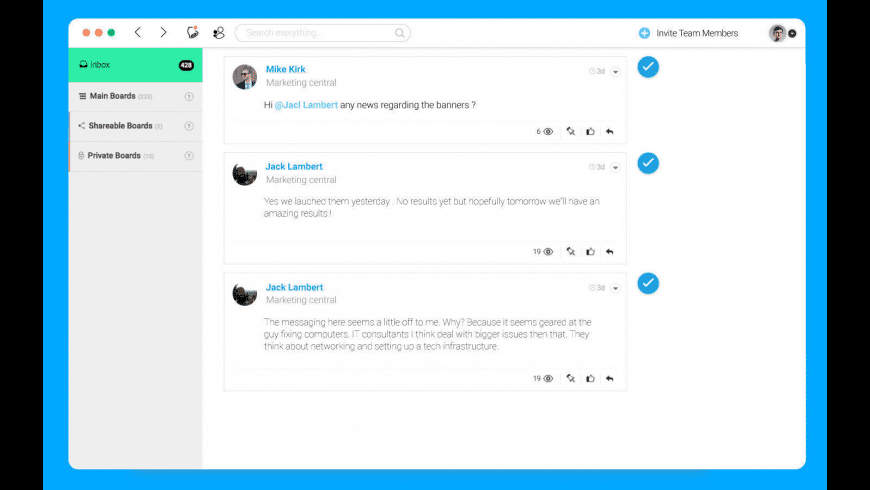 monday.com for Mac - review, screenshots