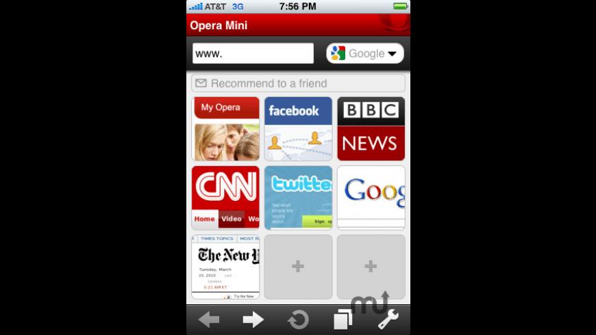 Opera Mini Web browser for Mac - review, screenshots