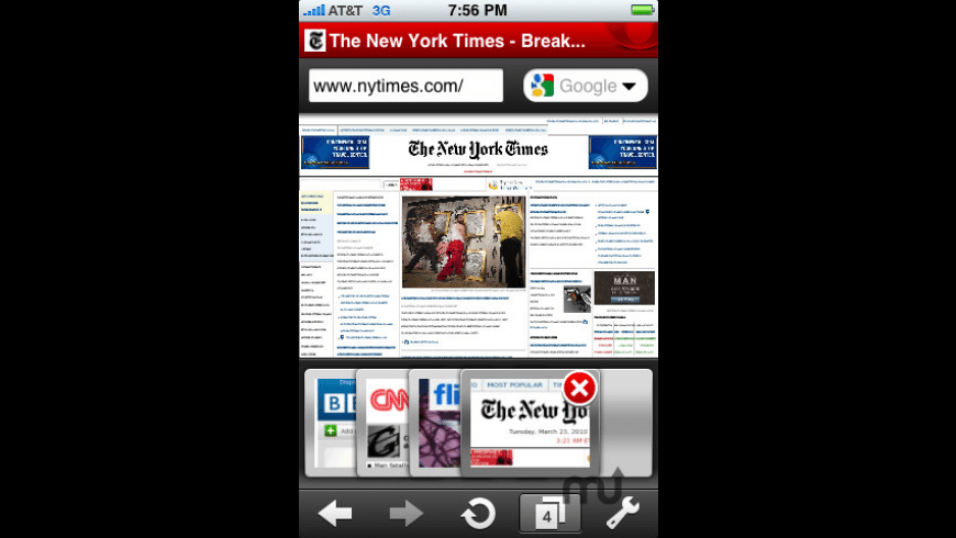 Opera Mini Web browser for Mac - review, screenshots