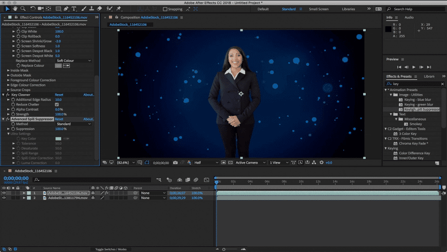 Adobe After Effects CC 2018 for Mac - review, screenshots