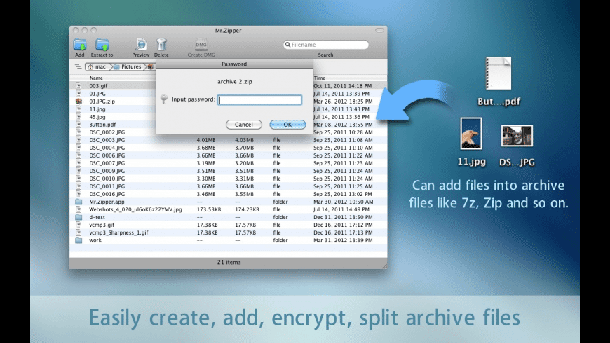 Mr. Zipper for Mac - review, screenshots
