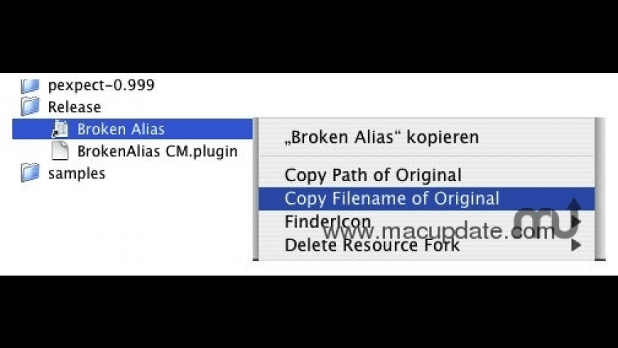 Broken Alias CM for Mac - review, screenshots