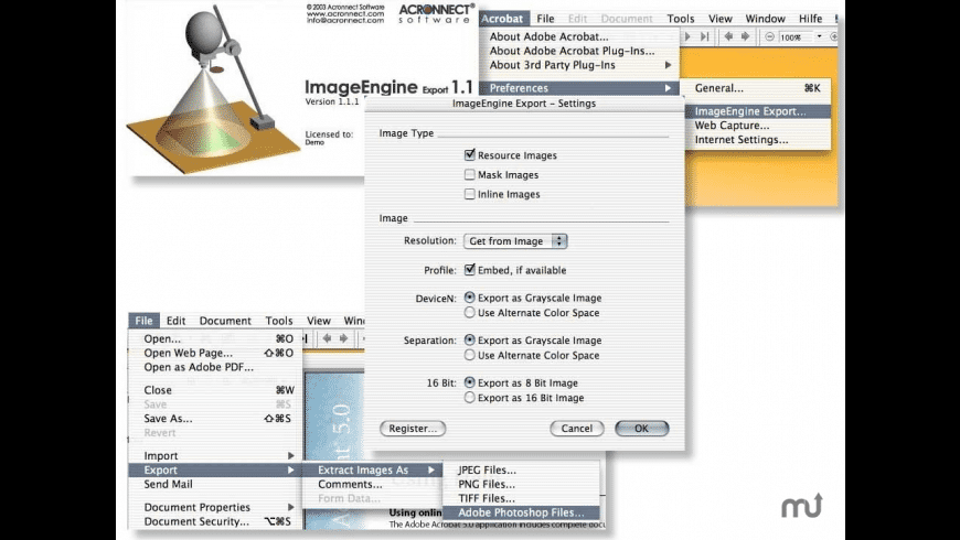 ImageEngineExport for Mac - review, screenshots