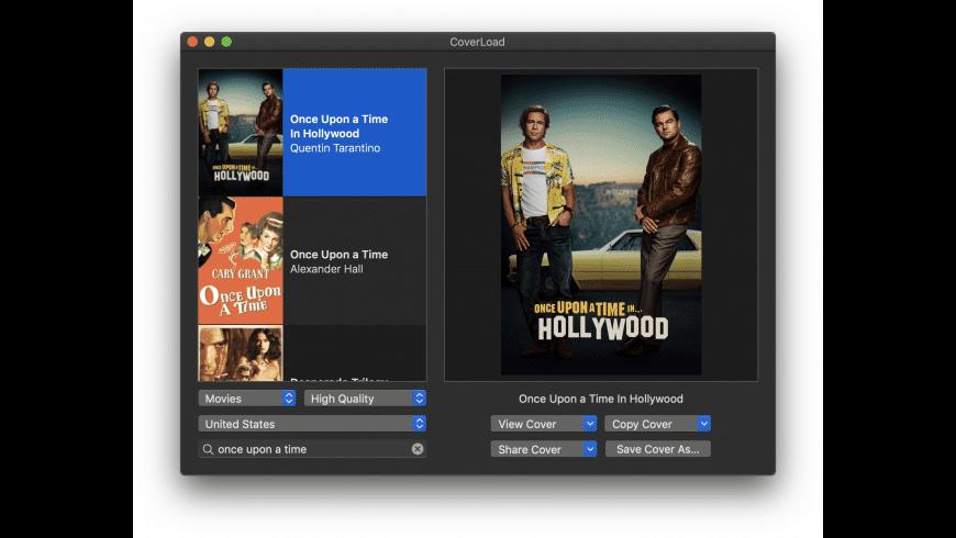 CoverLoad for Mac - review, screenshots