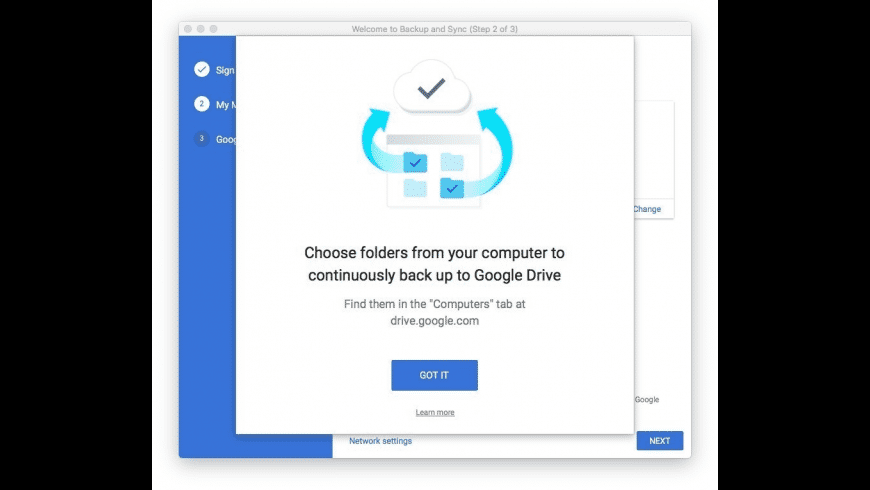 Backup and Sync for Mac - review, screenshots