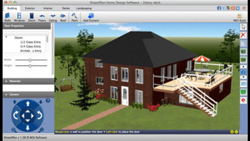 DreamPlan for Mac - review, screenshots