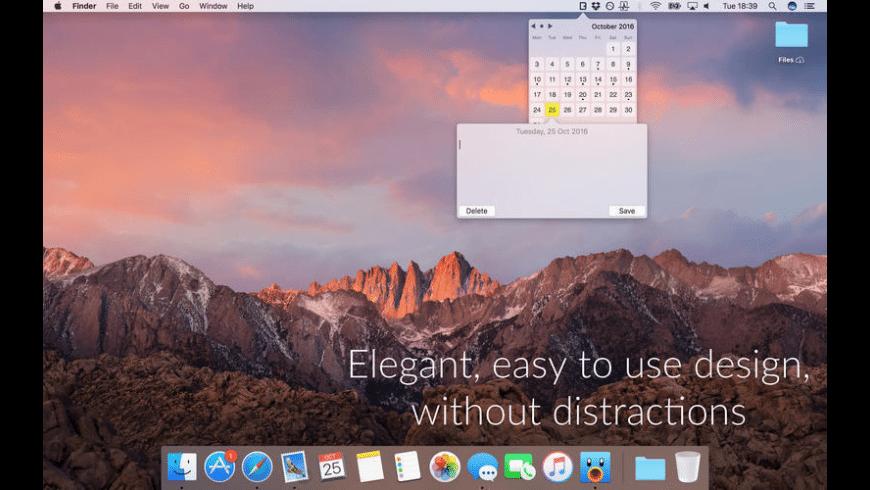 Diarey for Mac - review, screenshots