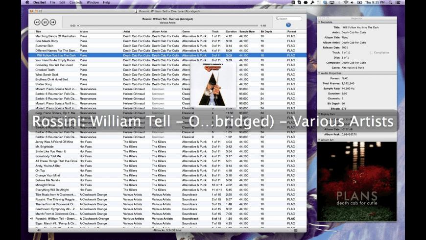 Decibel for Mac - review, screenshots