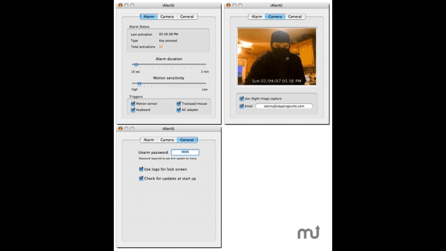 iAlertU for Mac - review, screenshots