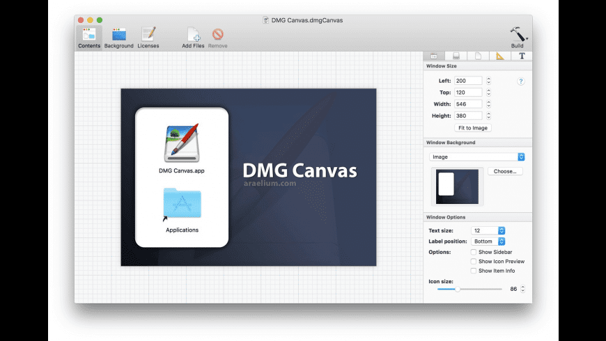 DMG Canvas for Mac - review, screenshots