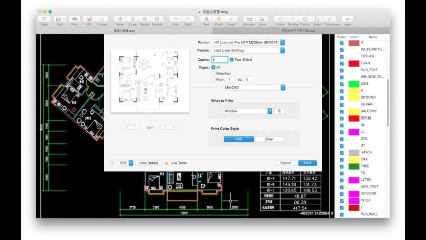 MiniCAD for Mac - review, screenshots