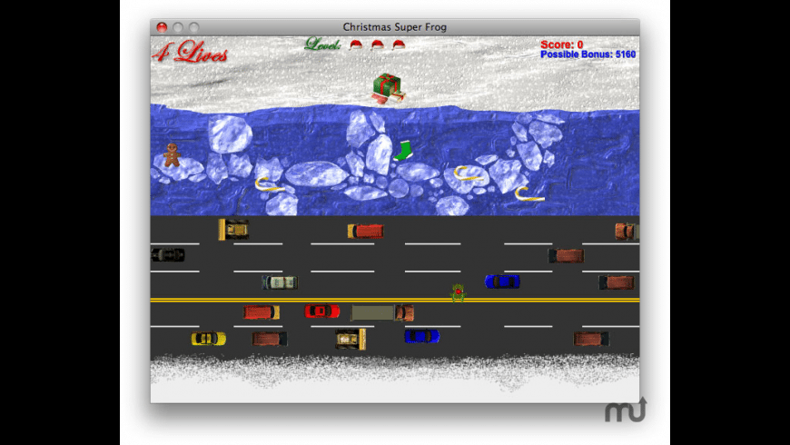 Christmas Super Frog for Mac - review, screenshots
