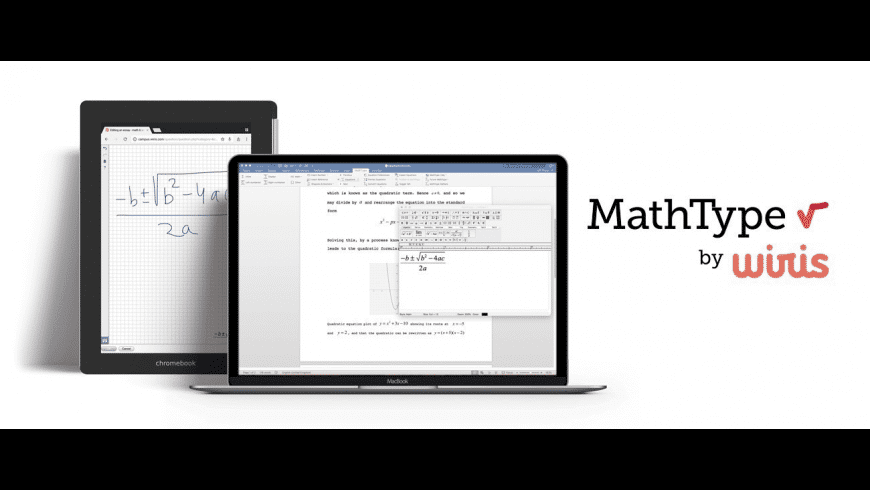 MathType for Mac - review, screenshots