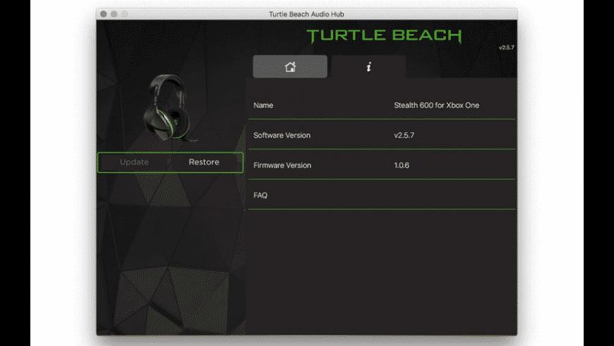 Turtle Beach Audio Hub for Mac - review, screenshots