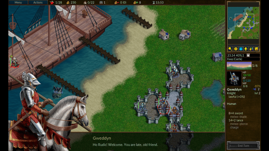 Battle for Wesnoth for Mac - review, screenshots