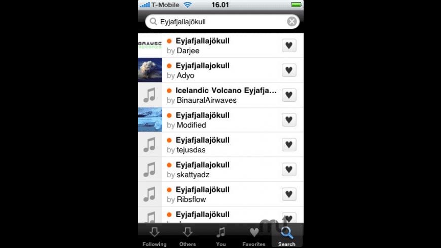 SoundCloud for Mac - review, screenshots