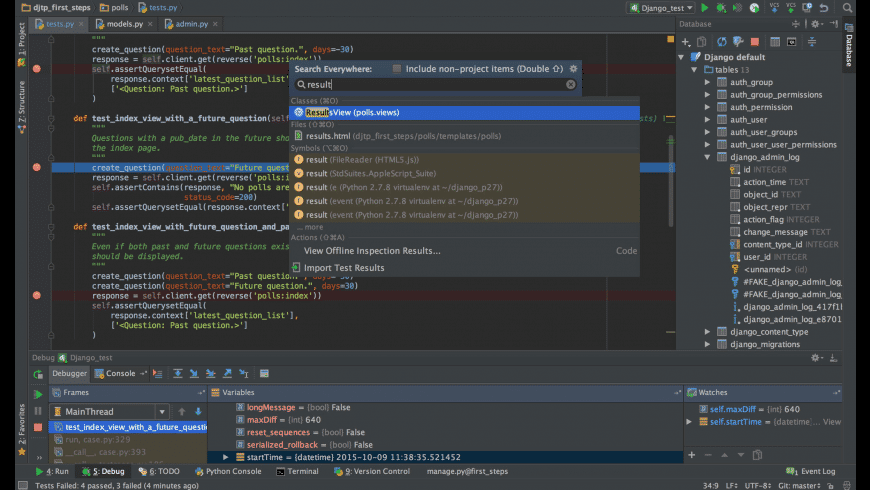 PyCharm for Mac - review, screenshots