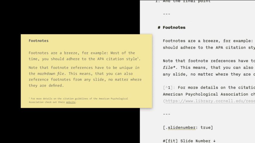Deckset for Mac - review, screenshots