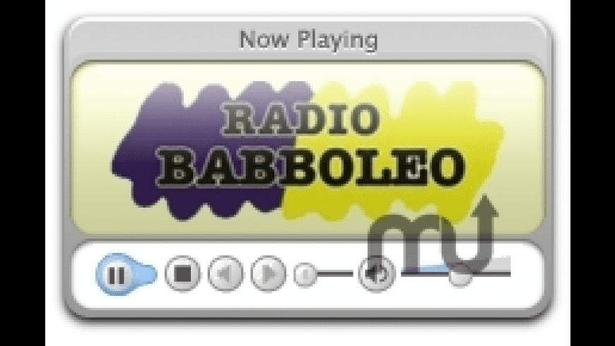 RadioBabboleo for Mac - review, screenshots